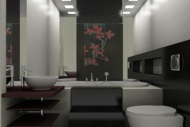 Ванна в японском стиле фото