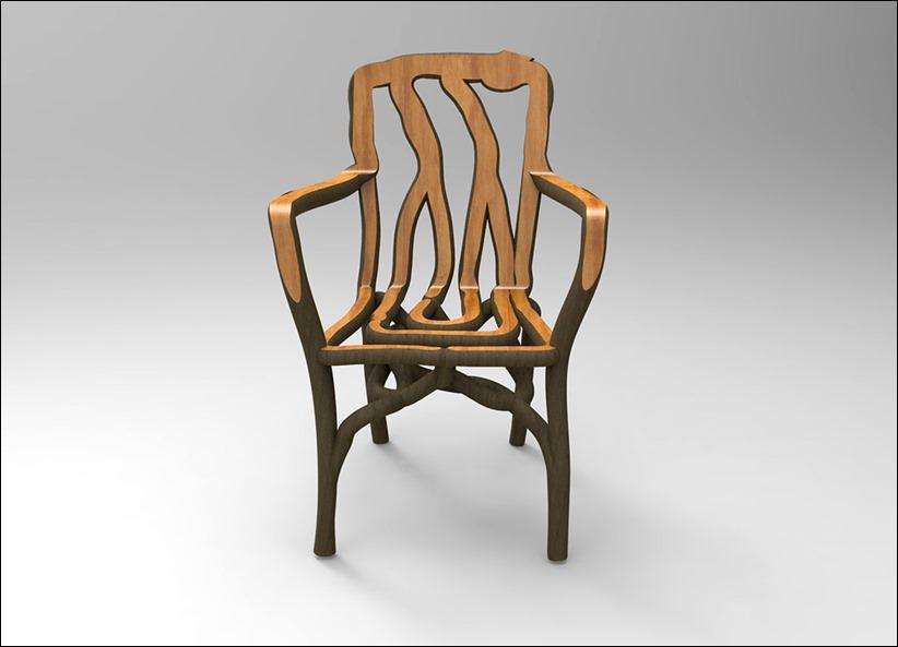 Møblerne er vokset i haven den økologiske måde 3d print   cemstroy ...