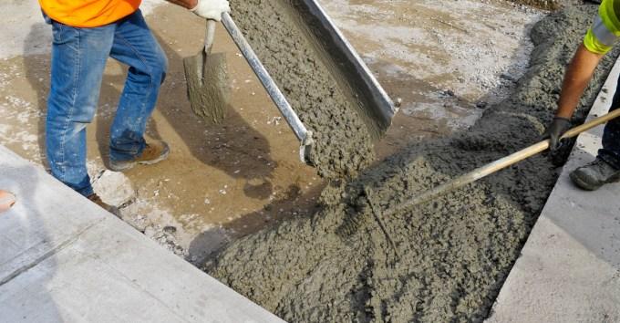 Тощий бетон что это такое скамьи из бетона