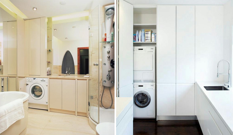 Как обустроить шкаф для стиральной машины 1 3 Строительный портал
