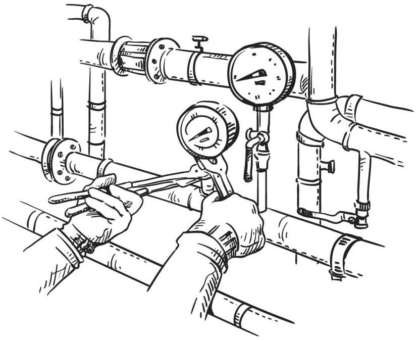Устройство, назначение, принцип работы и виды элеваторного узла 5 25 Строительный портал